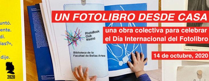 Un fotolibro desde casa / Día internacional del fotolibro