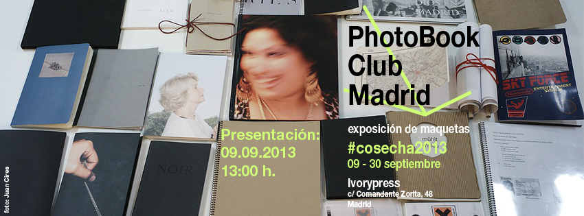 sesión 25 del PhotoBook Club Madrid, en Ivorypress Madrid, 23.07.2013